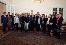 Spotkanie Polonii i delegacji sejmowej Komisji ds. Łączności z Polakami za Granicą w Ambasadzie RP w...