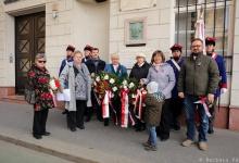 Uroczystość przy tablicy J.Bema w Budapeszcie
