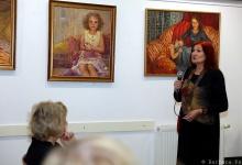 Gabriela Łyko kiállításának megnyitója