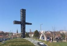 Budapest: a Smolenski Tragédia Áldozatai Emlékhelyének felavatása és megszentelése
