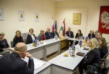 Lengyel képviselők ellátogattak az OLÖ-höz