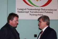 Nyíregyháza: lengyel karácsonyi ostyatörés