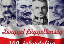 Szolnok: Lengyel Függetlenség 100 évfordulója