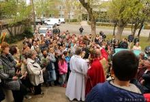 Virágvasárnap a budapesti Lengyel Templomban