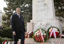 Polscy goście na obchodach święta narodowego Węgier