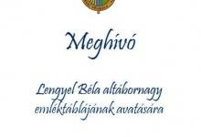 W Szarvas odbędzie się uroczystość odsłonięcia tablicy pamiątkowej