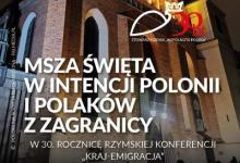 Msza Św. w intencji Polonii i Polaków z Zagranicy