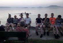 Az LNNI tanulói Balatonfenyvesen nyaraltak