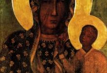 Obraz Matki Boskiej Częstochowskiej w  Veszprém